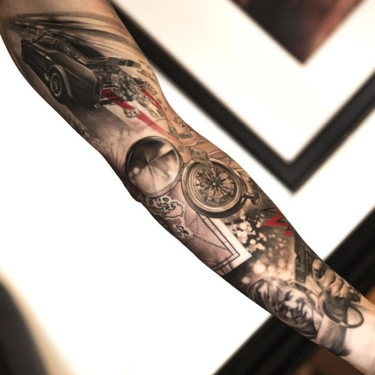 tatouage bras et avant bras en 50 id es hommes et femmes. Black Bedroom Furniture Sets. Home Design Ideas