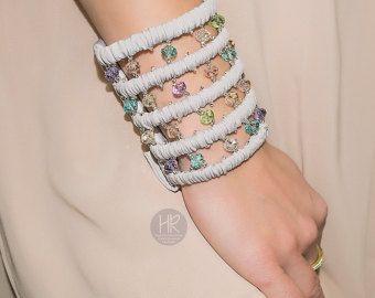 Wide bracelet with a secret. Bracelet purse. by HelgaRachinskaya