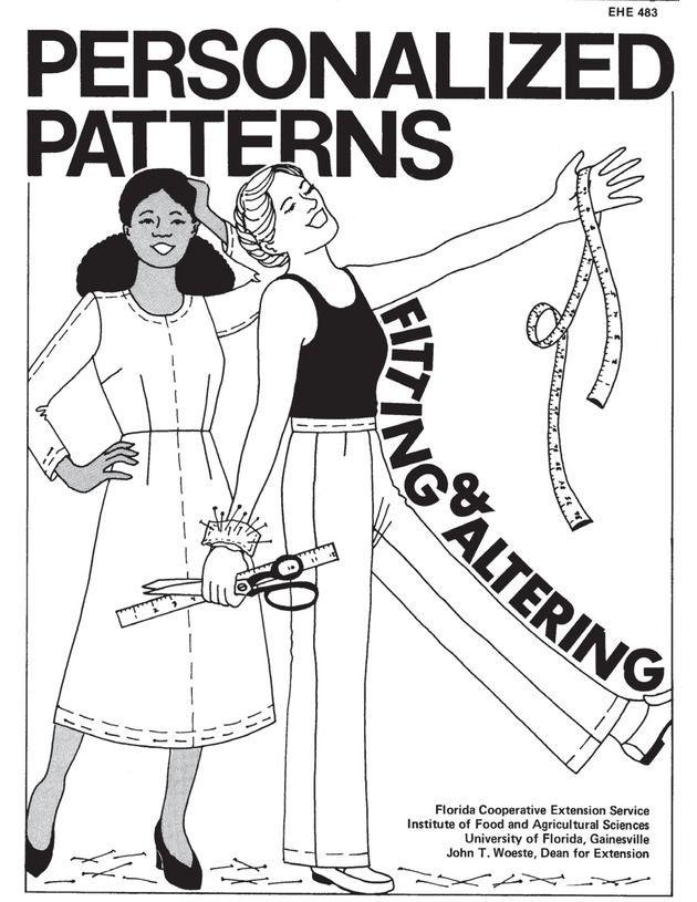 Free e-book on altering patterns and fitting clothing. Ein ganzes Buch mit Tipps, wie man SM's angleichen und selbst erstellen kann.
