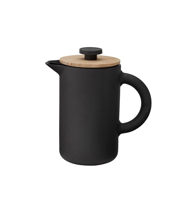 The award-winning Theo product range includes a French press coffee maker that combines Scandinavian design with Asian culture in a sophisticated way. | huntingforgeorge.com