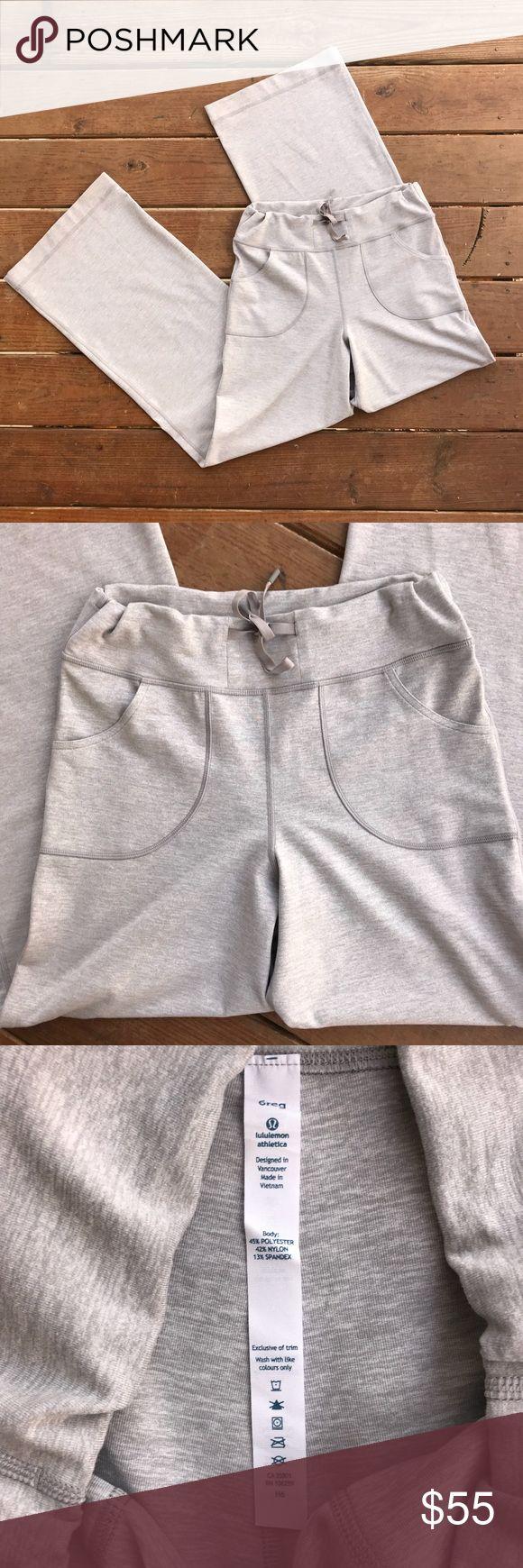 """Lululemon Athletica Still Pants Lululemon Athletica Still Pants. Size 6. Waist- 29"""". Rise - 10"""". Inseam- 31.5"""". lululemon athletica Pants Track Pants & Joggers"""