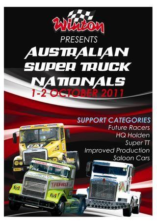 Australian Super Truck Nationals Program 2011  Super Truck Nationals Program 2011