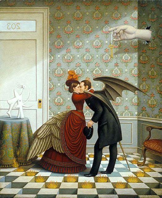 Surrealism and Visionary art: Colette Calascione