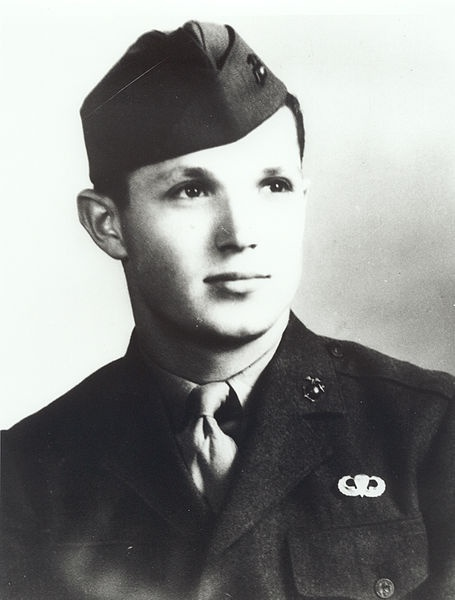 List of Medal of Honor recipients for the Battle of Iwo Jima.    Tony Stein  USMC
