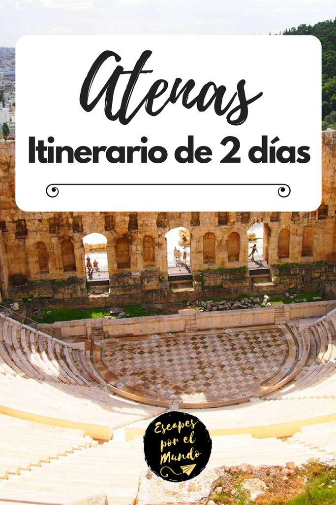 Atenas. Itinerario de 2 días en la ciudad griega. Athens, Greece. #travel #destinationearth