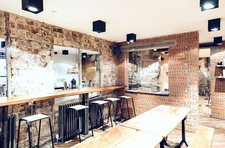 The brew lab edinburgh edin pinterest for Innendekoration restaurant