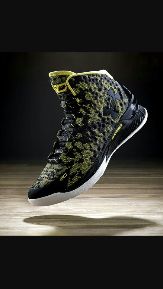 """Curry ones Black  """"Charged by Belief"""