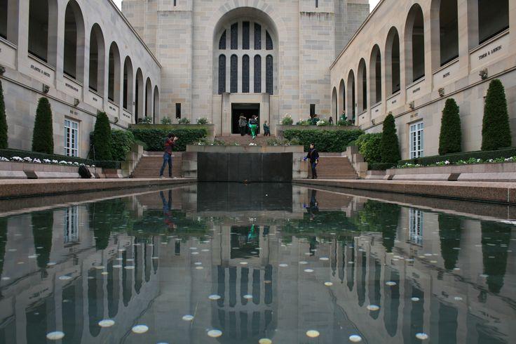 Inside the War Memorial