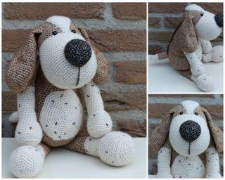 Dog Boris by Herriet - *pattern