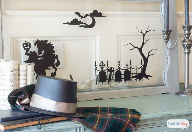 Atta Girl Says | Legend of Sleepy Hollow Halloween Decorations | http://www.attagirlsays.com