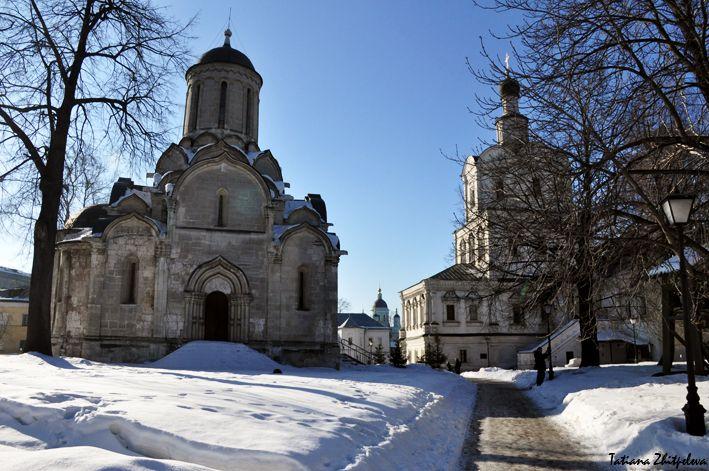 Архангельский храм и Спасский собор