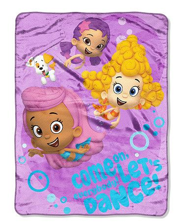 Take A Look At This Purple Let S Dance Bubble Guppies