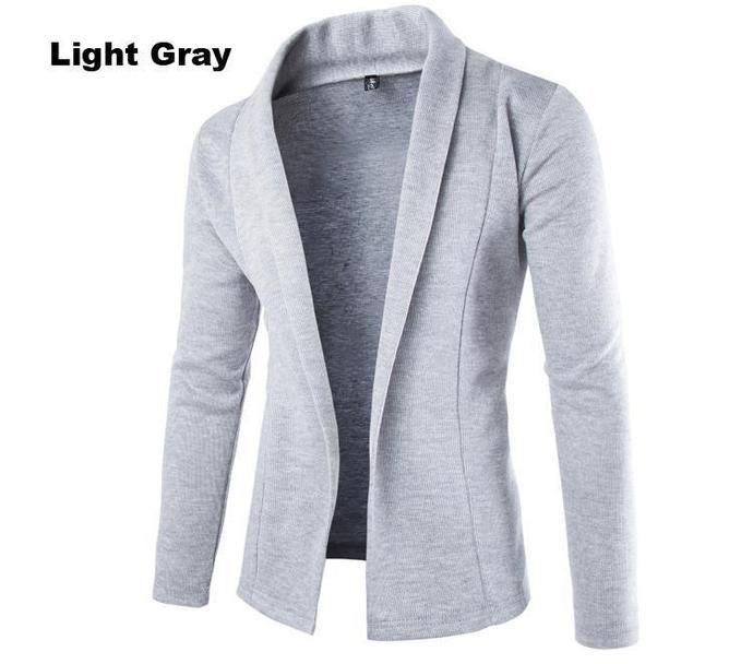 Men's Fashion - Grey Jacket - Limited Supply