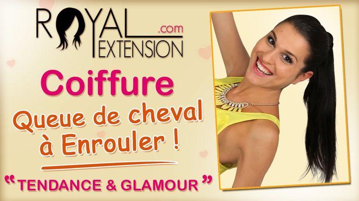 Tuto Coiffure : Extension Queue de Cheval à enrouler by Royal Extension