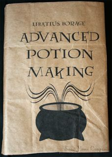 How To: Harry Potter Text Book Covers  printables - why didn't I think of this when I was in school?!