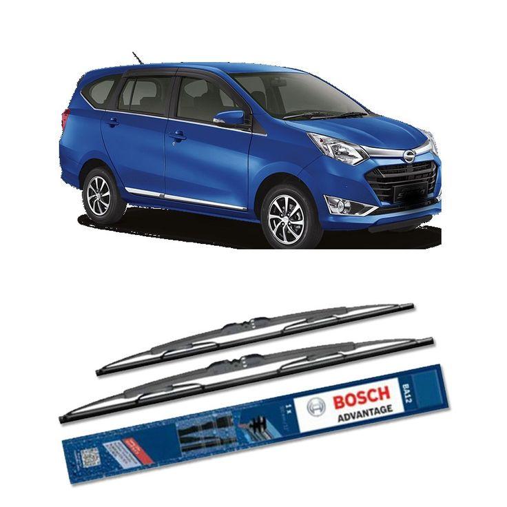 """Bosch Sepasang Wiper Mobil Daihatsu Sigra - Advantage 20"""" & 14"""" - 2 Buah/Set  Umur Pakai & Daya Tahan Lebih Lama Penyapuan kaca yang senyap Performa Sapuan Optimal Instalasi Mudah & Cepat Original Produk Bosch  http://klikonderdil.com/with-frame/1241-bosch-sepasang-wiper-mobil-daihatsu-sigra-advantage-20-14-2-buahset.html  #bosch #wiper #jualwiper #daihatsusigra"""