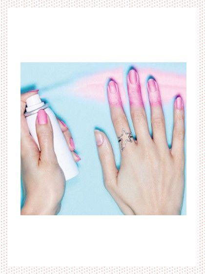 Die beste Beauty-Erfindung schlechthin!! Einfach aufsprühen und fertig! Unser Nagellack kommt jetzt aus der Spray-Dose!