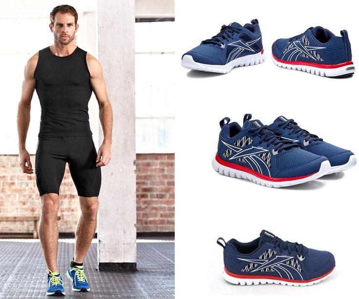 Uniwersalne buty sportowe do biegania, treningu, jak również do codziennego użytku.  #trening #odziez #buty #reebok #bieganie