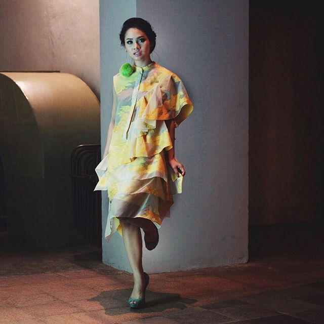 Yellow and green ensemble for Java Jazz On The Move 2016