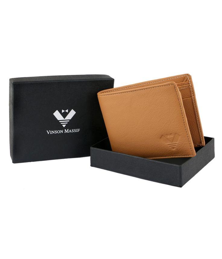 Vinson Massif Brillio Leather Wallet