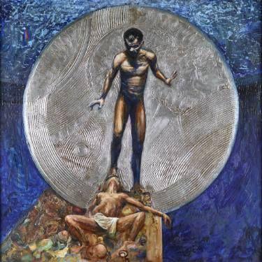 """Saatchi Art Artist Robert Szczebiot; Painting, """"Ambit"""" #art"""