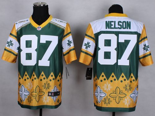 007724583 2012 new nfl jerseys green bay packers 87 jordy nelson green yellow ...