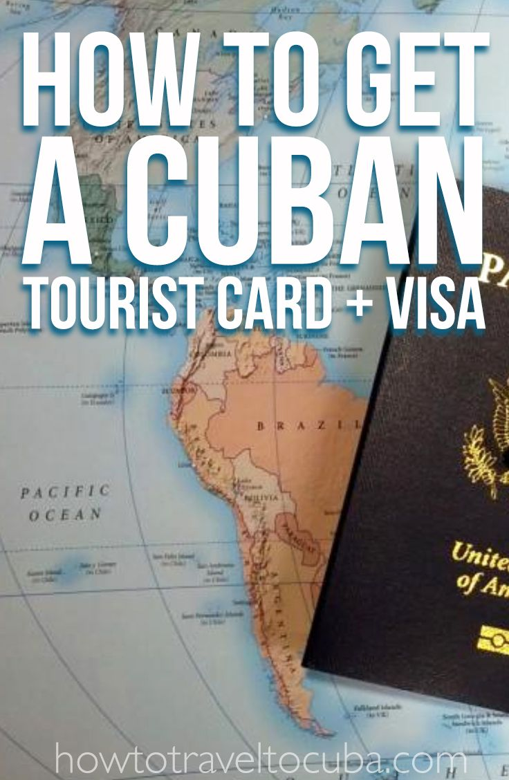how to get a cuban tourist card