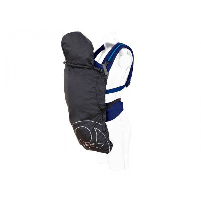 Protection pour porte bébé 2Go et My.Go Cobblestone Grey de chez Cybex... #protectionventpluie2go #protectionpluiemy.go #protectionpluieetventcybex #cybex #