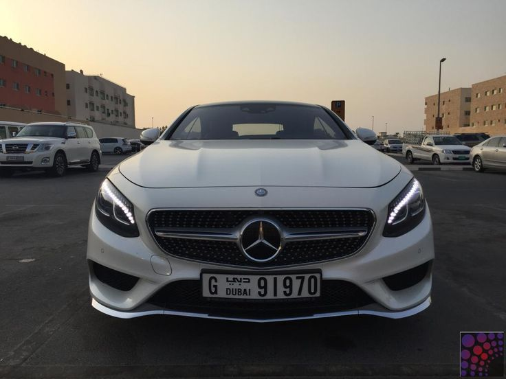 2015 Mercedes S500 Coupe - Dubai Rent A Car