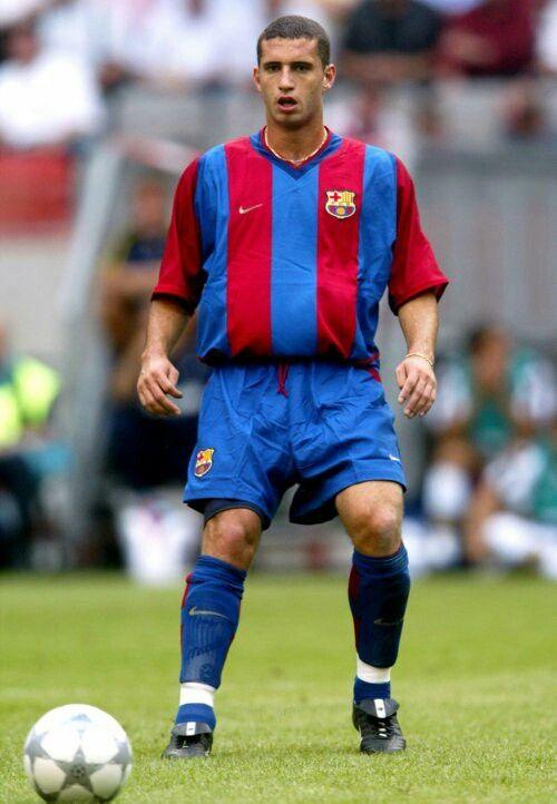 Fabio Rochemback of Barcelona in 2001.