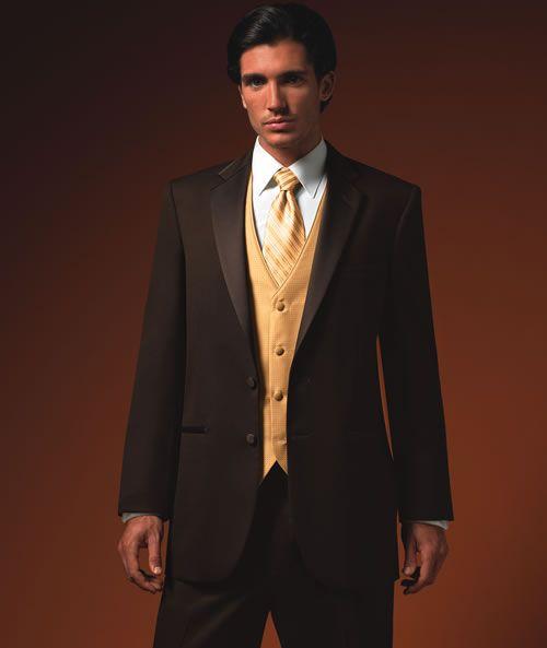 Brown Wedding Tux
