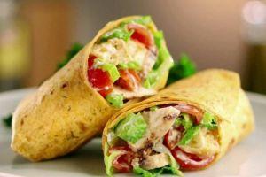 Wrap met avocado, kip en limoenmayonaise - Libelle
