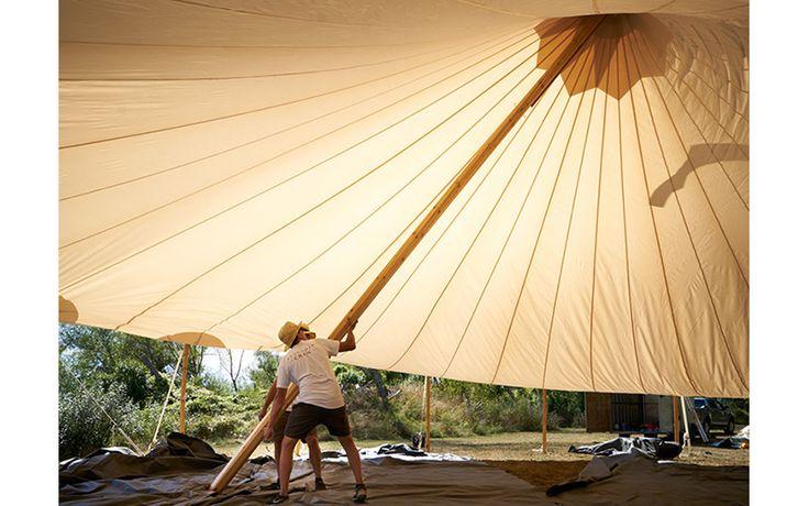 Huge wedding tent Flagship events hawkes Bay