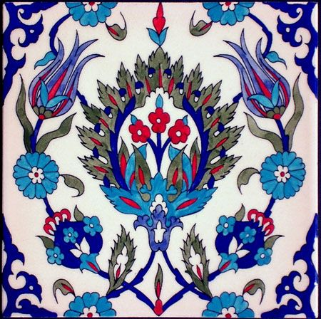 Armenian Tiles from Jerusalem