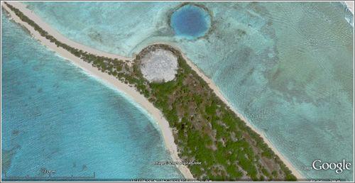 Cactus Dome (basurero nuclear) en la Isla de Runit - Atolón Enewetak -
