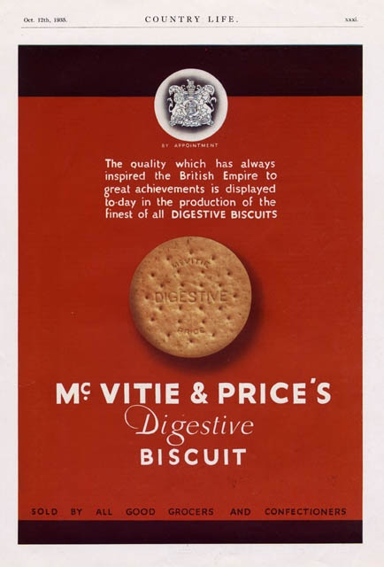 1935 McVities Biscuits MUC