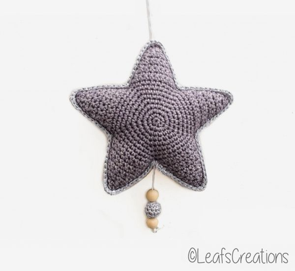 Star Music Box Crochet Pattern