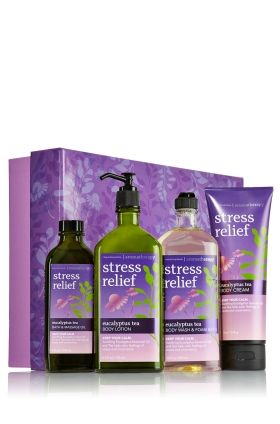 Stress Relief - Eucalyptus Tea Ultimate Eucalyptus Tea Gift Set  - Aromatherapy - Bath & Body Works