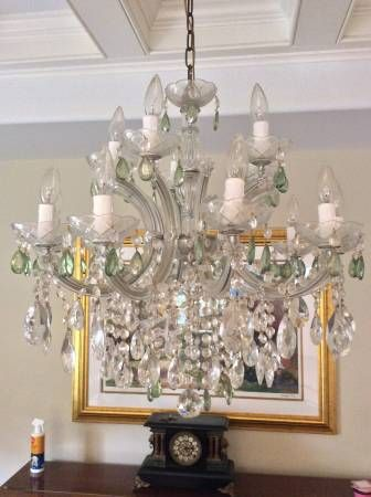 A Luxury Crystal Chandelier, Originally Valued At $2000, Now Available For  $500. In. Crystal ChandeliersHomesDining Rooms Part 79