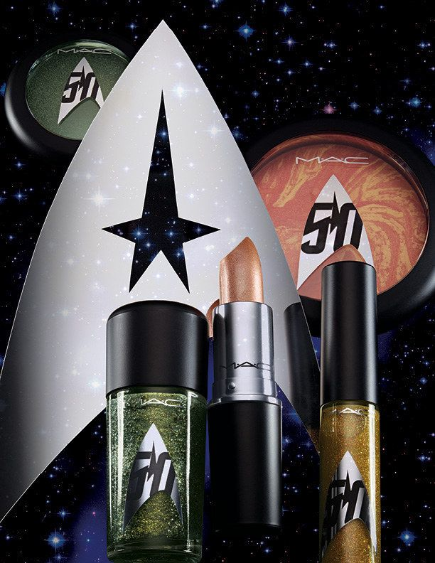 ALERT TO ALL TREKKIES: MAC Cosmetics is launching a Star Trek makeup collection in honor of its 50th anniversary.