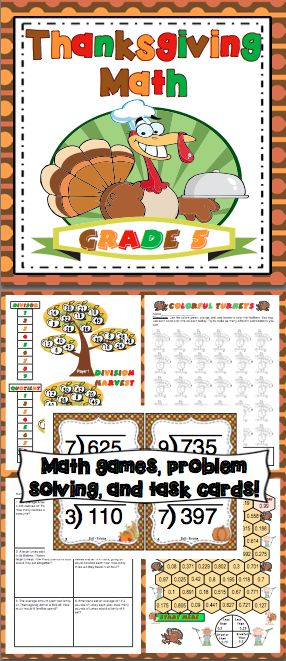 5th Grade Math Games and Videos