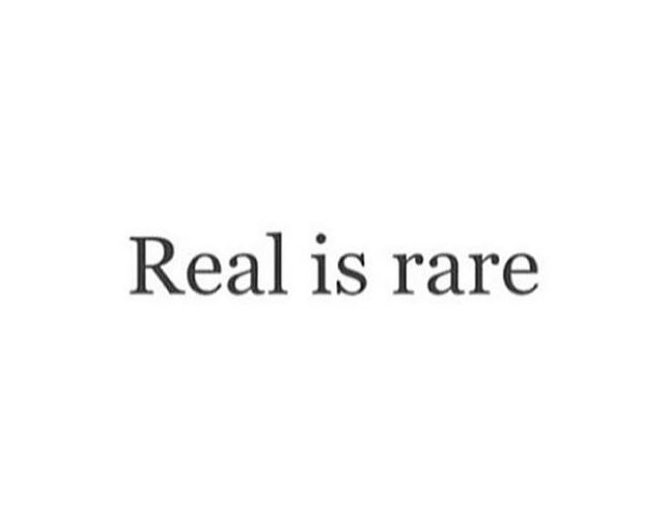 Always kept it real from day 1 remember that...