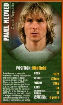 2004 Top Trumps European Football Stars #NNO25 Pavel Nedved Front