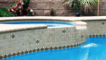 72 best images about pool tile ideas on pinterest - Swimming pool tiles design ...