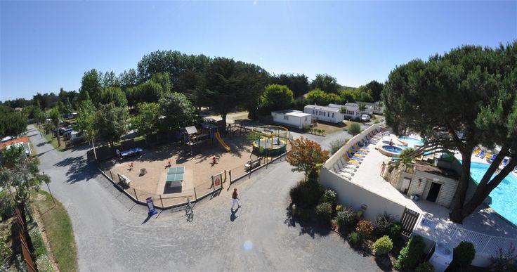 Activités - Jeux du camping - Animations et Services en camping St Hilaire de Riez en Vendée - Domaine des Salins