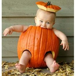 Cutest pumpkin! Nora will definitely have this picture!