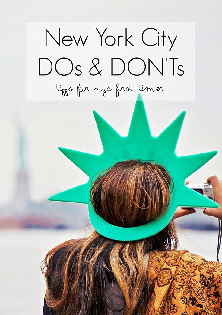 New York DOs & DON'Ts – NYC City Trip Tipps für First-Timer