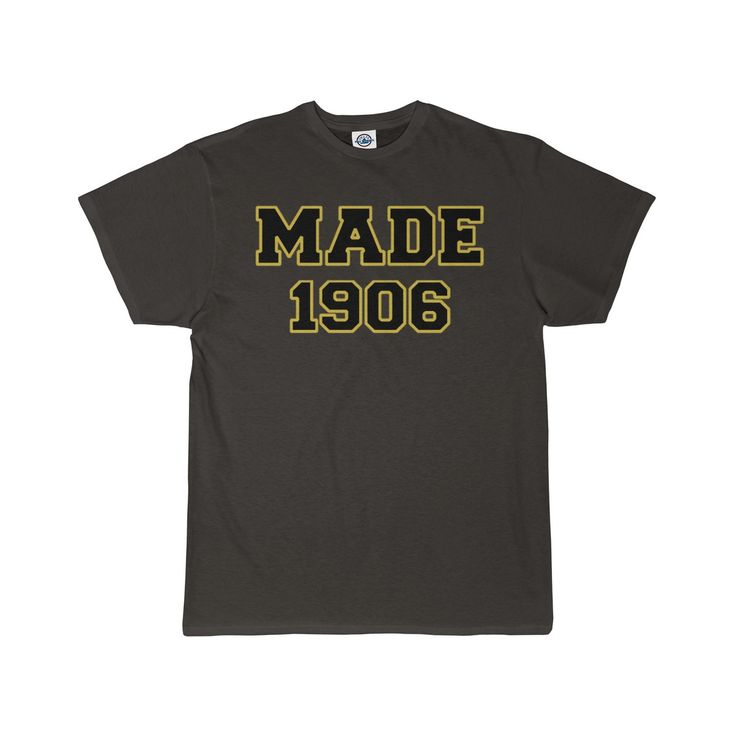 Alpha Phi Alpha Made In 1906 Men's T-Shirt