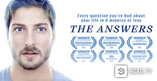 """This Short Film """"The Answer"""" Will Make You Remember Every Moment Of Your Life - 9GAG.tv"""
