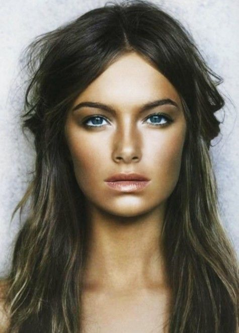 Love this look because you can see exactly where the contouring and highlighting was done!